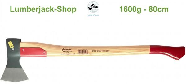 Waldarbeiter Axt Top Line 1600g 80cm