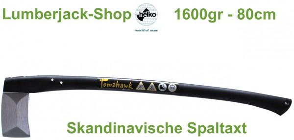 Skandinavische Spaltaxt Helko Tomahawk 1600g 80cm