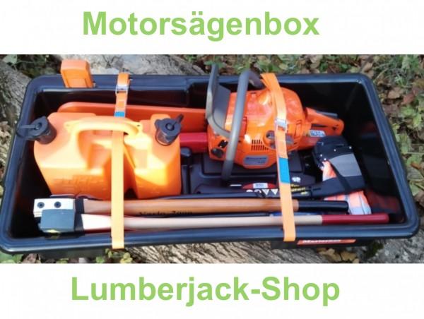 Motorsägenbox - Kettensägenbox