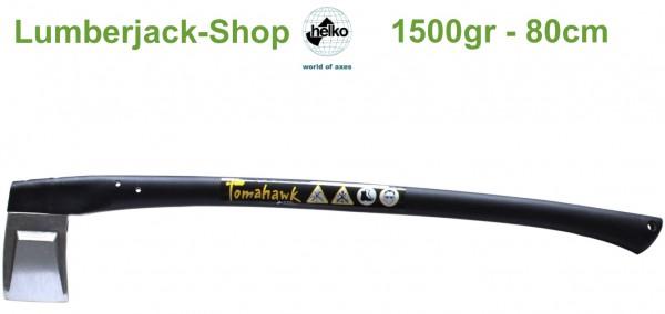 Leichte Spaltaxt Helko Tomahawk 1500g 80cm