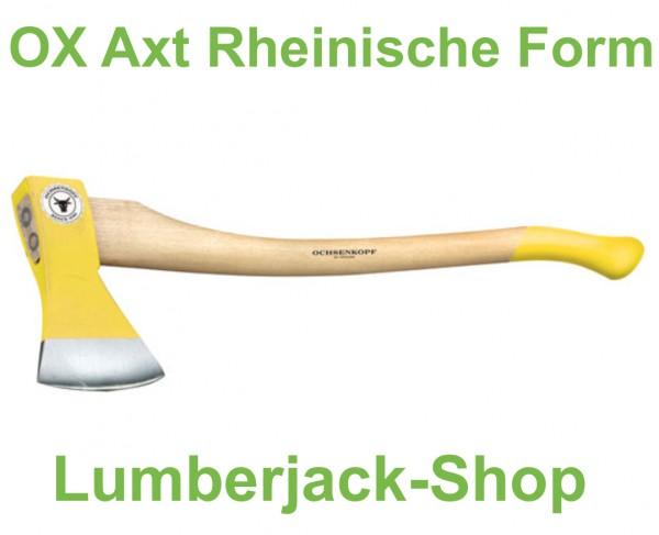 Euro Axt Rheinische Form Ochsenkopf 1,4kg 80cm